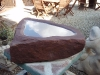 Birdbath, Forest of Dean red sandstone         